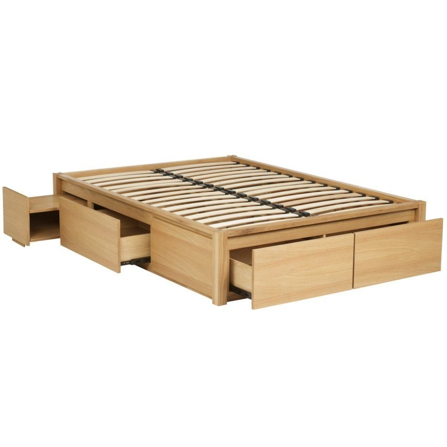 king size platform bed frame with storage
