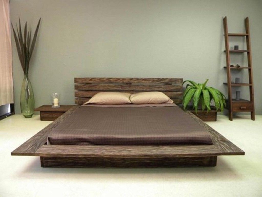 modern japanese bed style