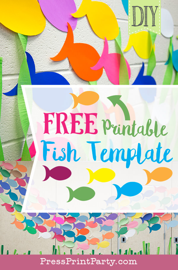 amazing under the sea decorations vbs or party press