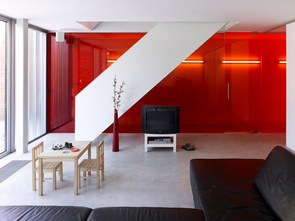 awesome red wall living room design interior design ideas