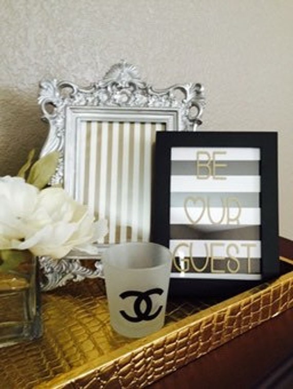 be our guest framed sign guest bedroom wall art guest room