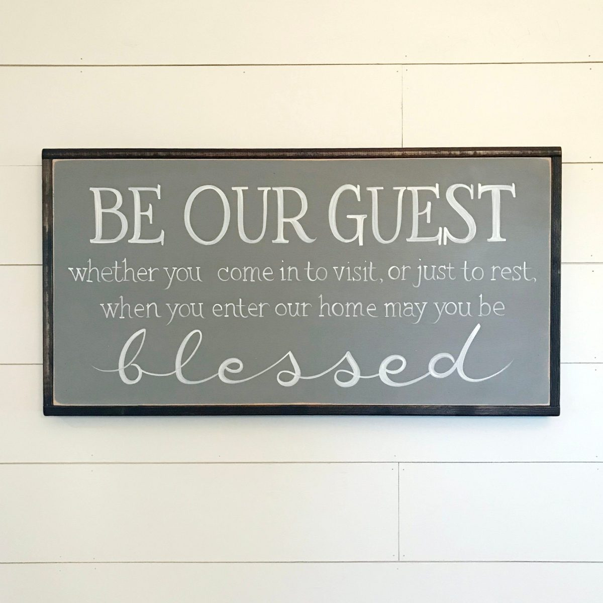 be our guest sign farmhouse decor wall decor be our etsy