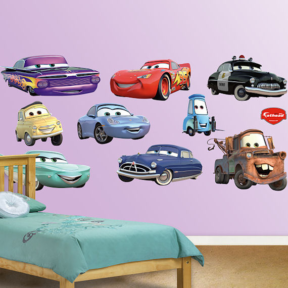 disney cars collection fathead wall sticker