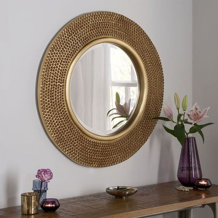 gold round wall mirror 79cm gold mirror wall round wall