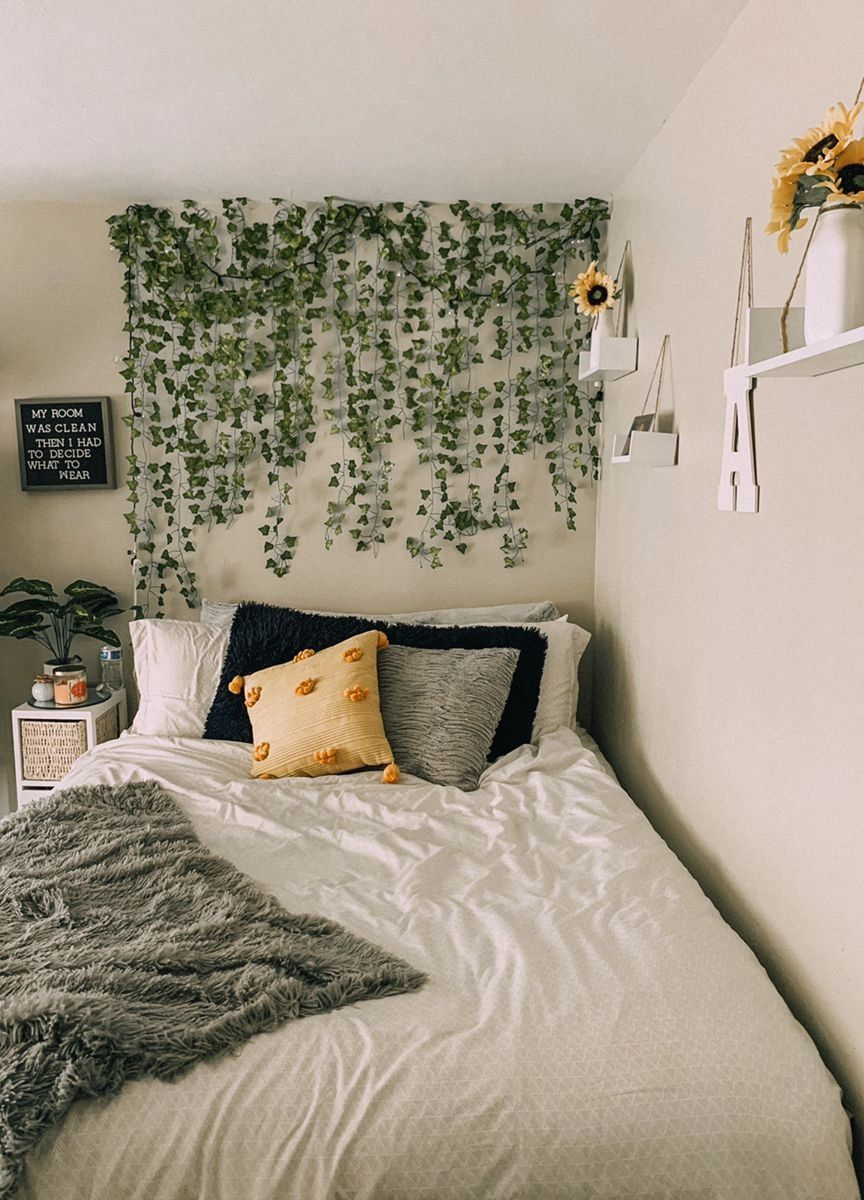 ivy wall bedroom decor modern design in 2020 college