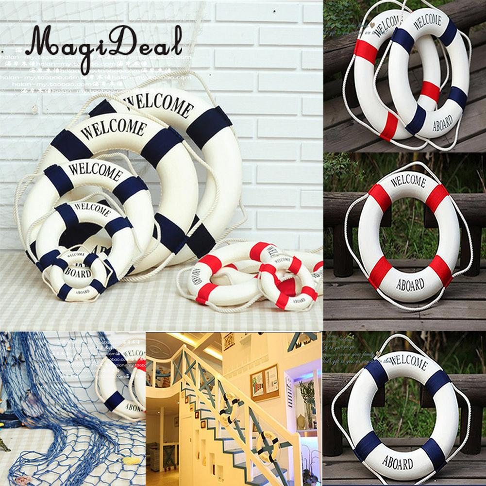 magideal welcome nautical wall decor ship boat ring life