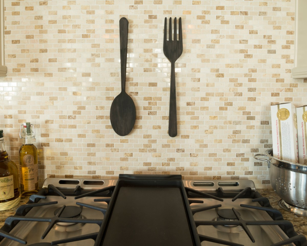 word billy 2 piece fork and spoon wall dcor set ebay