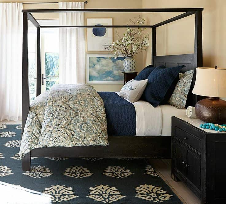 few of my favorite things navy blue bedrooms lz cathcart