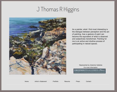 Thomas Higgins website
