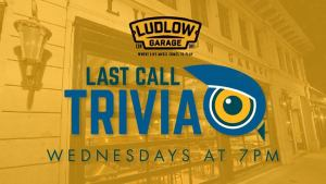 Last Call Trivia Wednesdays at The Ludlow Garage @ The Ludlow Garage | Cincinnati | Ohio | United States