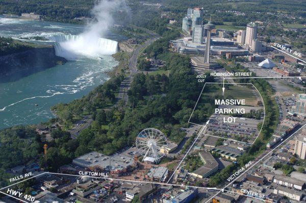 Niagara Falls Fireworks parking