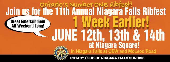 Summer festivals in Niagara