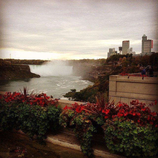 Niagara Falls in the Fall