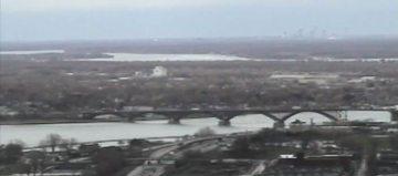 Niagara River ice boom