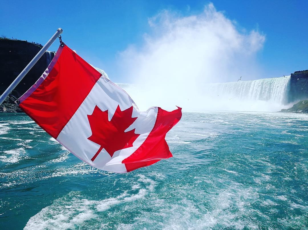 Niagara Canada Day at Niagara Falls
