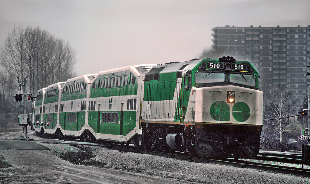 Go Train Winter Niagara