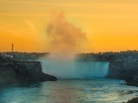 Niagara Falls Sunset Fall Sleep Cheap