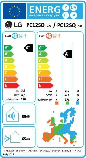 Climatiseur Mono Split Réversible Inverter PC12SQ.NSJ / PC12SQ.UA3 ...