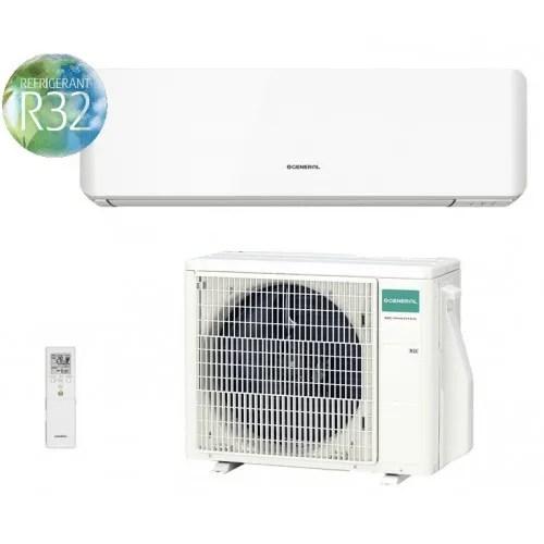 Climatizzatore/Condizionatore Fujitsu General Monosplit Parete 12000 btu ASHG12KMTA / AOGH12KMTA 2