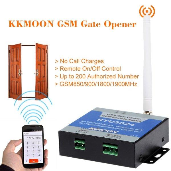 Modulo abrepuertas GSM RTU5024