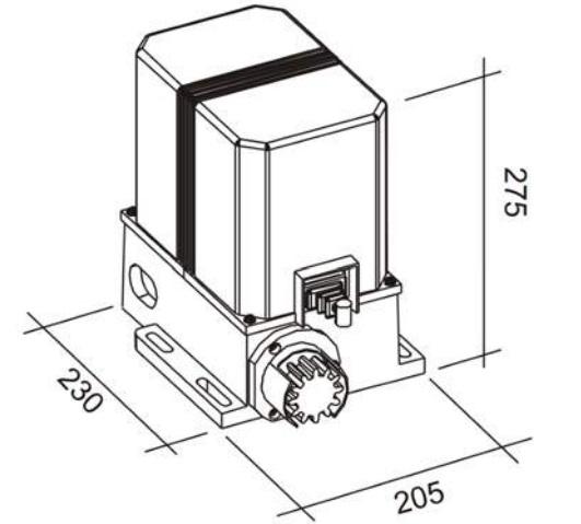 EMFA CU-800 motor corredera 800kg