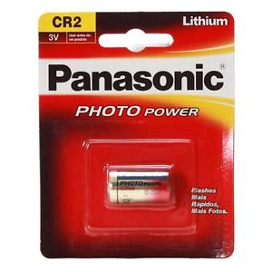Pack 3 X Batería pila litio Panasonic CR2 3V 2023