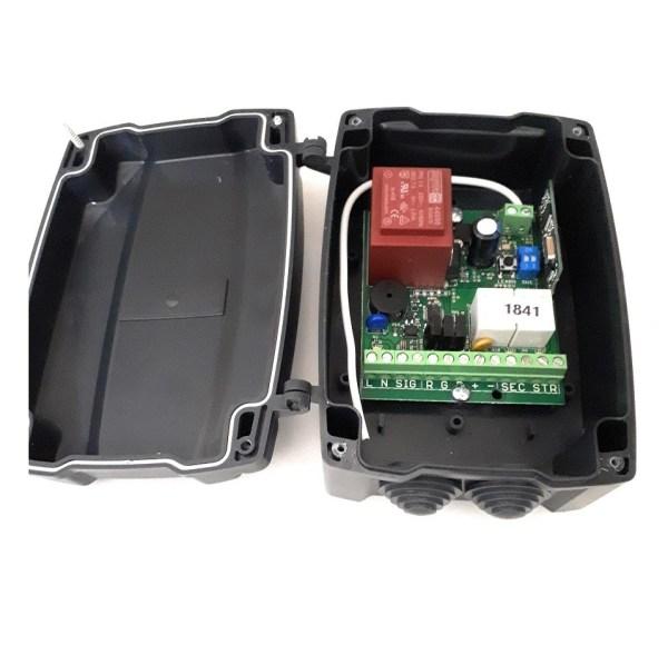 Kit universal cuadro control persianas con 2 mandos