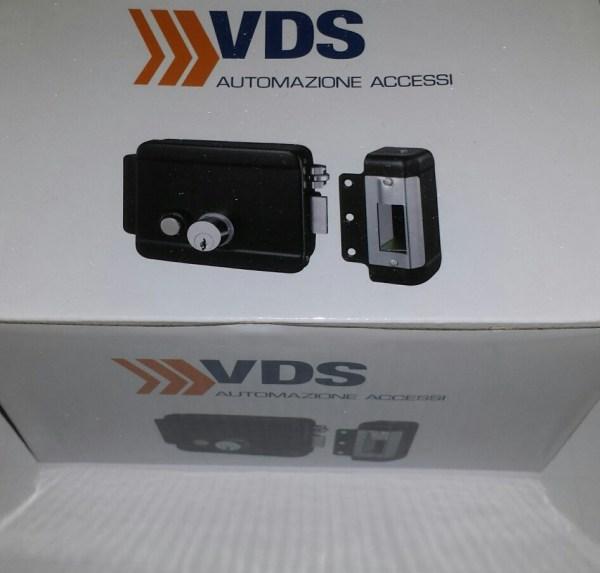 Electrocerradura con pulsador VDS