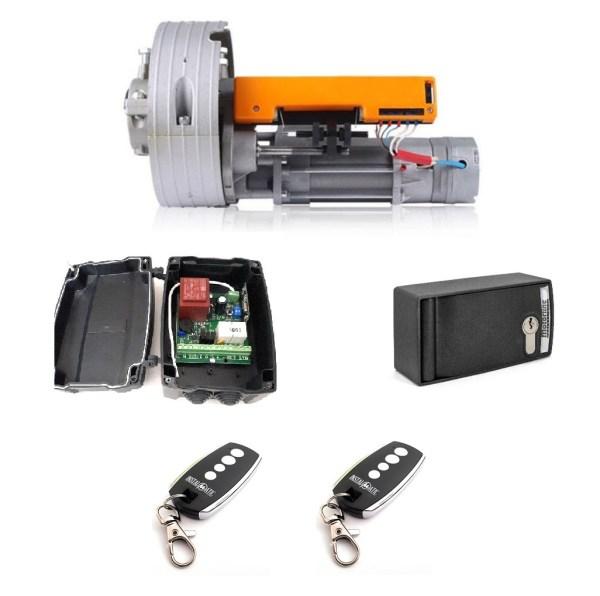 Kit motor enrollable cierre metalico roll 180kg