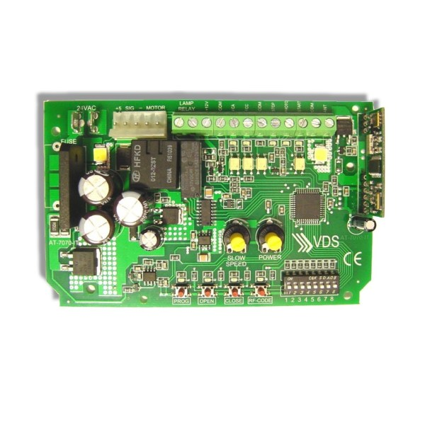 Cuadro de control AT 7070 motor seccional VDS Utile