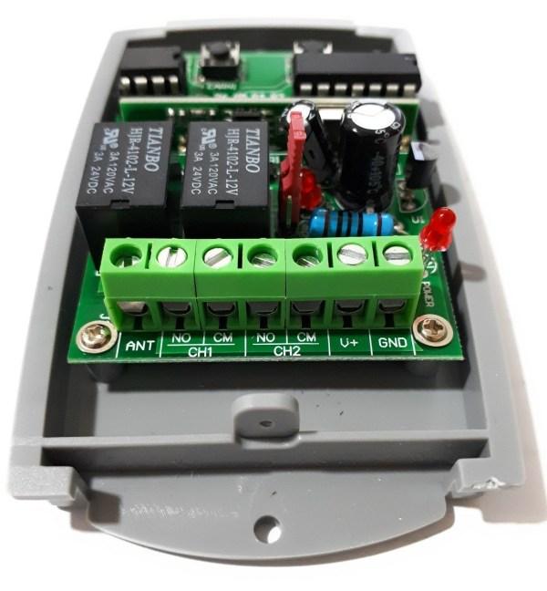 Receptor universal rolling code y fijos RX4