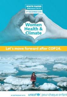 White paper women health climate