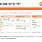 G20 net zero targets