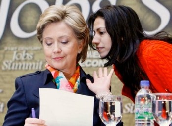 huma with clinton