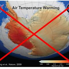 Breaking news: La Penisola Antartica si raffredda