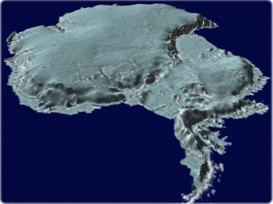 Bilancio della massa glaciale della calotta antartica