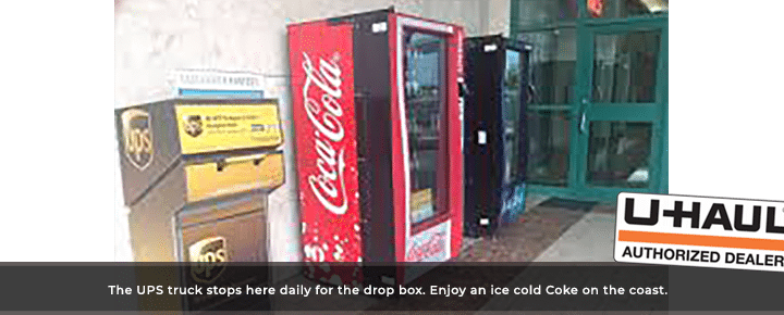Come by and enjoy a Coke!