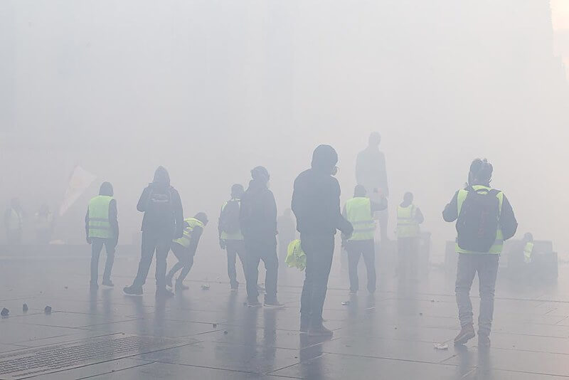 A Low Ineffective French Carbon Tax Lies Frozen at 2018 Level