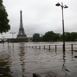 In France: Above Average Temperatures in Winter; Below Average Temperatures in Spring