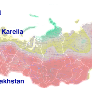 Siberia's 2021 fires were stronger than the fires in Greece, Turkey, Italy, the United States, and Canada combined
