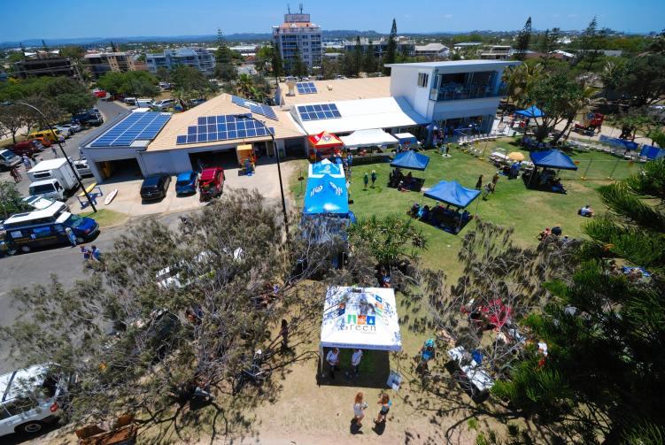 Kawana SLSC view of solar legacy