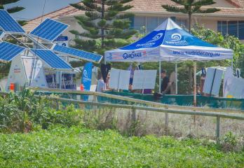 solar powered multi media system