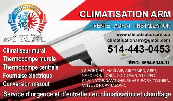 Climatisation à Blainville