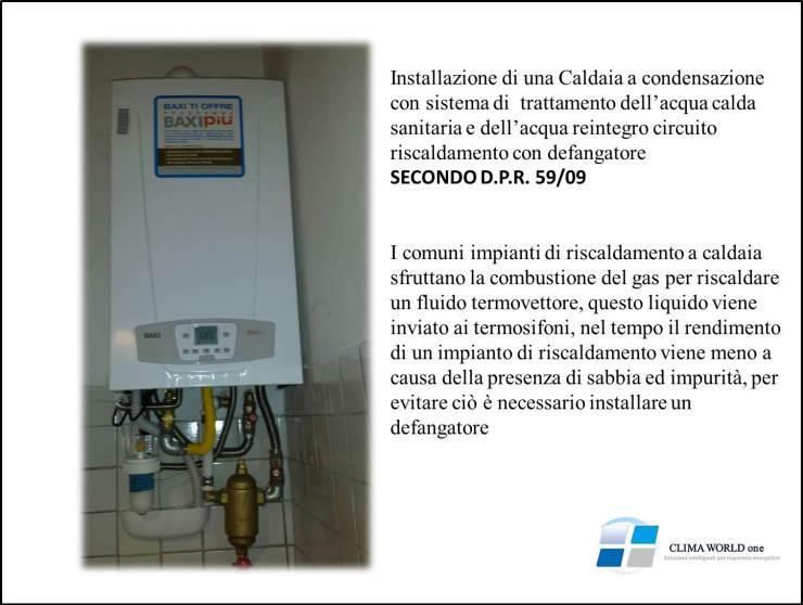 Con una caldaia a condensazione quanto si pu risparmiare for Pvc per acqua calda