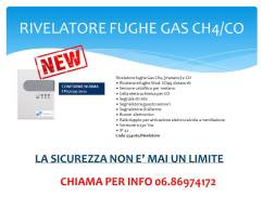 RIVELATORE FUGHE GAS