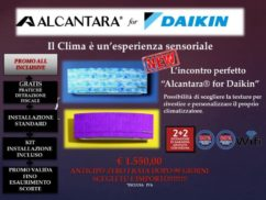 Alcantara for Daikin
