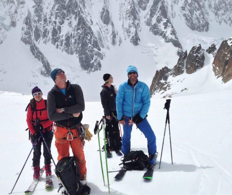 Climb to Col du Tour Noir