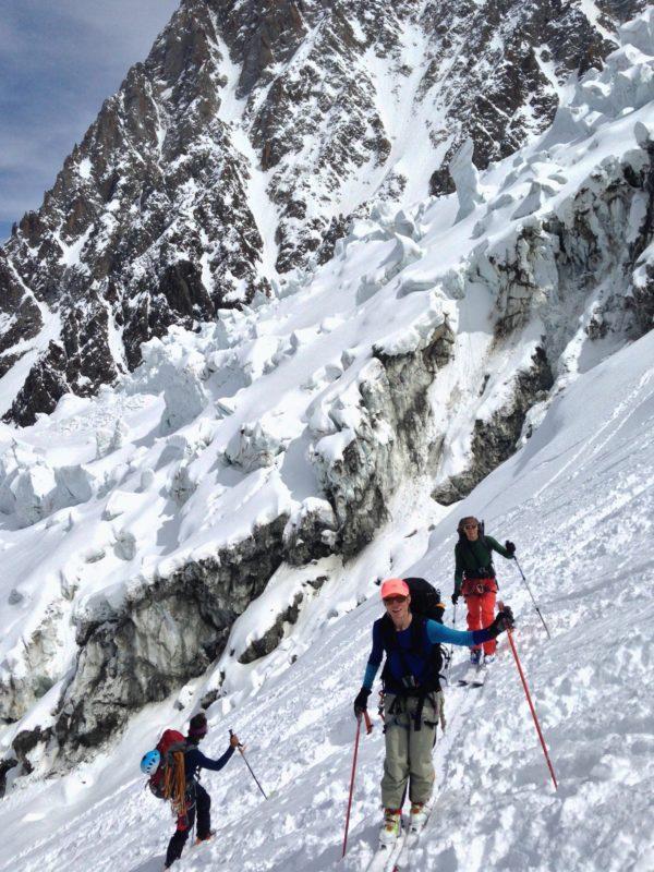 Climb to Hut