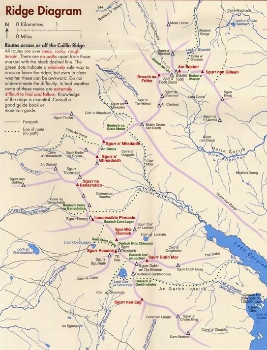 Map of Ridge