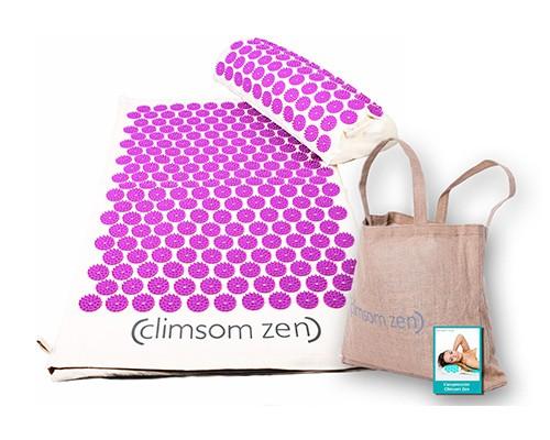 pack tapis et coussin d acupression climsom zen